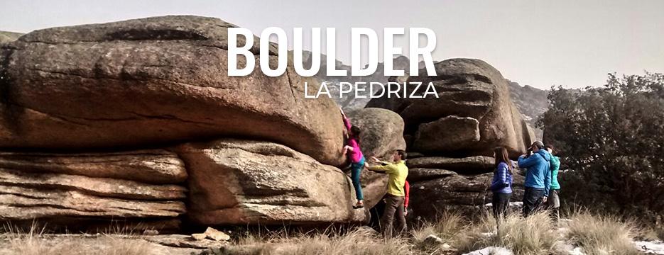 Boulder la Pedriza